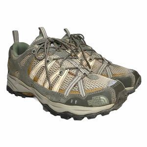 THE NORTH FACE Hedgehog Hiking Trail Shoes Gray